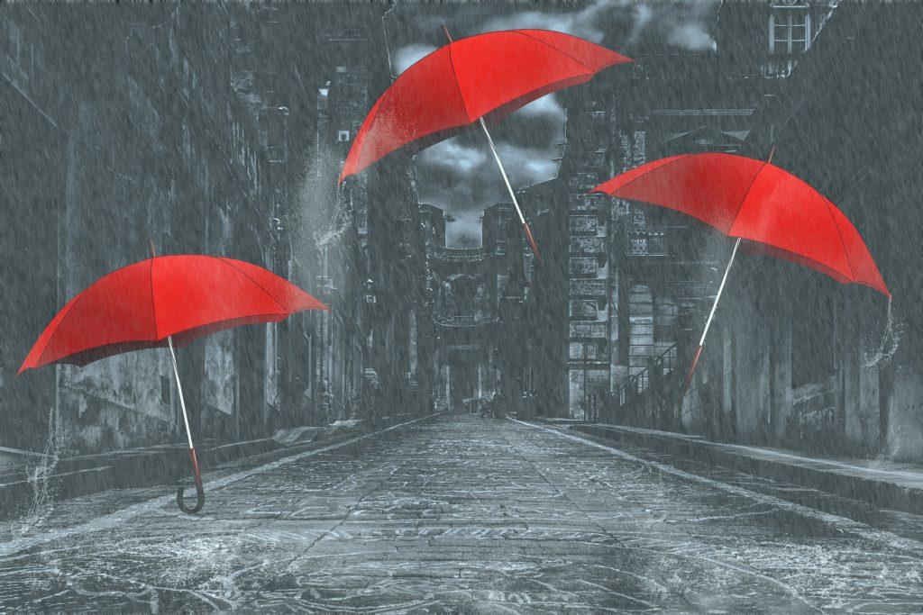 車いすユーザーは雨の日どうやって外出しているの?