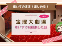 【車いす】初めて宝塚歌劇の舞台を観劇した話|だりあろぐ