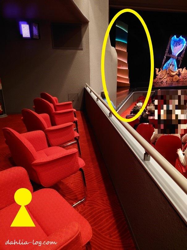 宝塚大劇場車いすのまま観られる場所は だりあろぐ